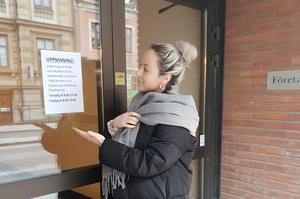 Sanna Gerhardsson, Skövde Cityförening, startar insamling till de drabbade i Södra Ryd.