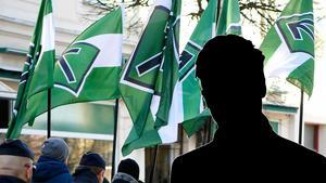 Sundsvallsbon har de senaste åren varit med och samordnat resor till nazistiska Nordiska motståndsrörelsens 1 majdemonstrationer.