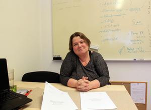 Maria Alfredsson, rektor på Parkskolan,  framhåller att det är många positiva krafter som lett fram till att verksamheten på skolan fått ett lyft.