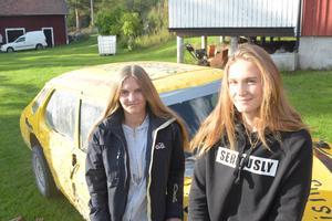Jeanette Heed och Matilda Karlsson, Sunnansjö MK.