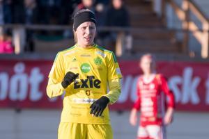 Matilda Wennberg gjorde Ljusdals första mål i matchen.