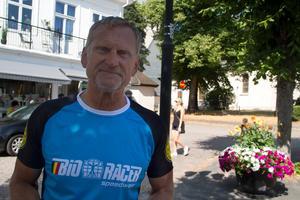 Leo Olsson, ordförande i Norbergs Cykelklubb som arrangerar Engelbrektsturen.