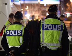 Rekryteringen av poliser ska öka de närmaste åren – samtidigt är det vårt att fylla platserna på polisutbildningarna. Foto: Mikael Fritzon / TT