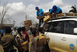 Unicet distribuerar förnödenheter runt om i världen.Bild: Unicef