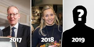Johan Söderström blev Årets Västmanlänning 2017 och Frida Hansdotter 2018. I dag avgörs vem som blir vinnare 2019.