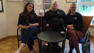 Rebecca Hummelgård, kontorschef för Särnmark assistans i Gävle deltog med sina kollegor på systerkontoret i Uppsala: Charlotte Forsberg och Eva Södergren. som båda arbetar med kundansvar.