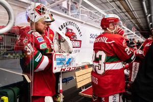 Janne Juvonen har haft en tung start på kvalet - men har ändå spelat mest. Foto: Daniel Eriksson / BILDBYRÅN