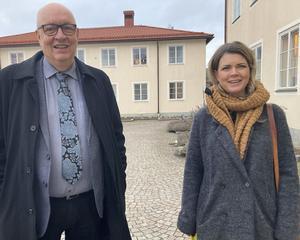 Ulf Berg (M) och Sofia Jarl (C), två av regionråden.