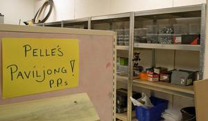 Pelles paviljong är en cykelverkstad och en av de arbetsplatser som skapats i Arbetscenters nya lokaler.