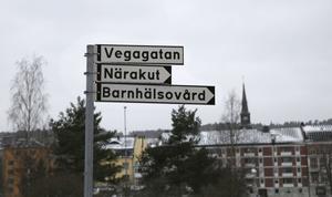 Närakuten och Rosenborgs barnhälsovård ligger på Vegagatan.