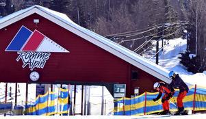 Romme Alpin har öppet under helgen 14-15 december.