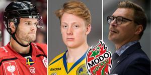 Kim Rosdahl och Fredrik Olofsson kan komma att spela ihop, säger Hellkvist. Foto: Bildbyrån.