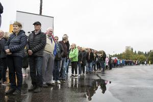 Spendrups hade räknat med mellan 5000 och 6000 besökare. Och visst var intresset stort...