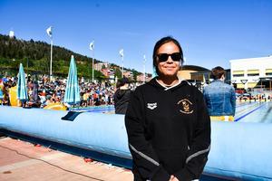 Tanya Stenling, tränare i Sundsvall Simsällskap.