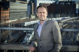 Svante Axelsson, samordnare för Fossilfritt Sverige. Foto: Fredrik Hjerling