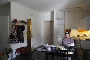 Juhani Kousmanen trivs i sitt rum på Södra Allén där han har bott i tre år.