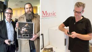 Niklas Hoxell driver Köpingsföretaget Musikevent och är även manager åt Idolvinnande  Chris Kläfford. Foto: Bob Linger/Lennart Ljung.