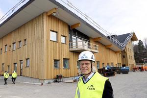 Arkitekten Olov Gynt på White arkitekter AB i Västerås har varit engagerad i uitformningen av detta bygge i sex år.