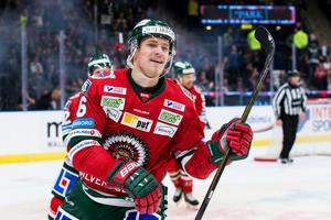 Kristoffer Gunnarsson har tidigare spelat för Frölunda i SHL. Foto: Michael Erichsen/BILDBYRÅN