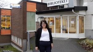 Kristina Lindström vill visa upp vad som händer på allaktivitetshuset i Tallnäs.