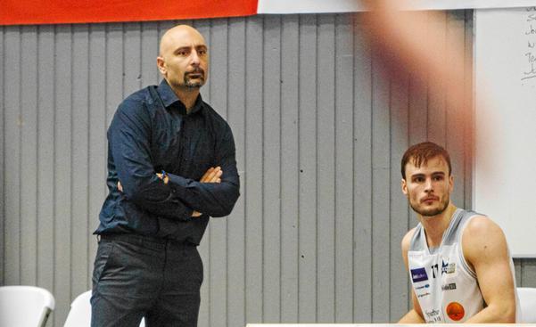 Tränare Jotti Nikolaidis tror mycket på klubbens senaste värvning.