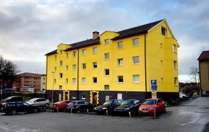 Fastigheten på Östergatan får inte vara gul.