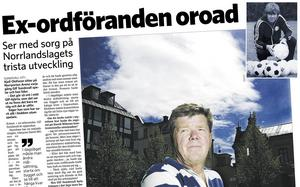 Kjell Olofsson uttryckte sin allvarliga oro för GIF Sundsvalls sportsliga framtid i början av juni 2006. Nu säger han samma sak som då – fast i början av mars 2018 handlar det om föreningens existens.