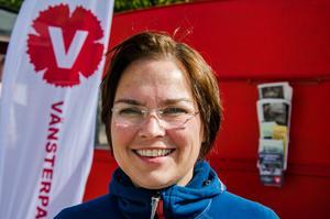 Christiane Rüdiger (V), ordförande i den kommunala nämnden Navi: