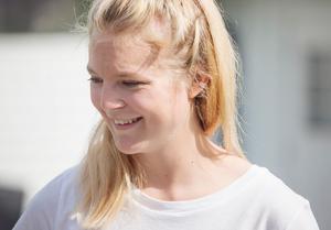Elina växte upp i Stigslund och ville gärna flytta tillbaka.