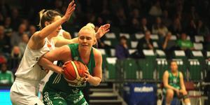 Mikaela Gustafsson är klar för en ny säsong med Telge Basket.