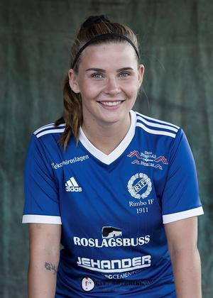 Ebba Nilsson är stolt över Djurgårdens insats i turneringen. Foto: Tomas Wennbom