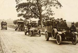 Brittiska solader i nordirländska Limerick 1920.Foto: W. D. Hogan