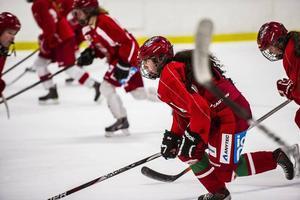 Spelarna/eleverna på hockeygymnasiet får jackor för 2 000 kronor styck av kommunen. Årets ettor har dock inte fått sina ännu.