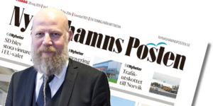 Daniel Nordström ska från och med i höst inte längre vara chefredaktör för Nynäshamns Posten, Länstidningen i Södertälje och Norrtelje Tidning. Han kommer att fokusera på sina lokaltidningar i Västmanland.