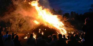 I Stockholms län kan det bli eldningsförbud innan valborg.