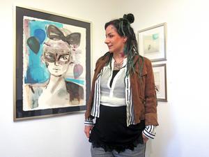 Emilia Lindberg är en av de konstnärer som har ställt ut flest gånger på Galleri BGB.