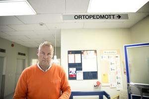 Ortopeden överbelastad. Roger Skogman, överläkare och verksamhetschef på ortopeden i Falun.