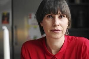 Liza Lundberg, ordförande S-kvinnor i Falun. Foto: Karin Sundin/Arkiv