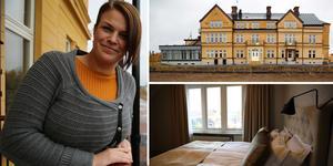 Maria Franzon - Ronell ska driva Järnvägshotellet som nu är redo för öppning.