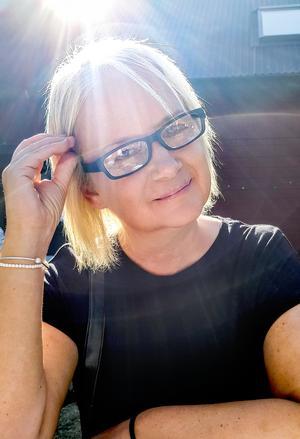 Ulrika Axelsson fick reda på att hon drabbats av kronisk njursvikt när hon besökte läkaren 2003. Foto: Privat.