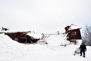 Ett stort saneringsarbete väntar i vår efter att snön tinat bort.