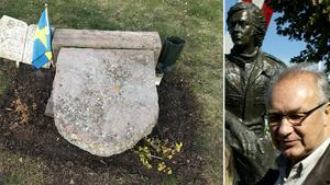 """Brodern Tommy om vandaliseringen av Ronnie Petersons grav: """"Slutar aldrig förundras över hur människor är funtade"""""""