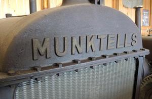 Rena konstverket med sin härliga patina är denna kylare från Munktell.