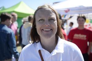 Sara Nylund, 41, politiker (S), Gussjö: – Att det är en manifestation för alla människors lika värde.