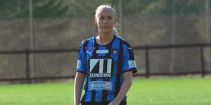 Tio mål satte hon dit under sin debutsäsong i Domsjö.