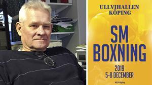 Håkan Pettersson är BK Köpings starke man och är den som håller i mycket när det arrangeras boxnings-SM torsdag-söndag den här veckan.