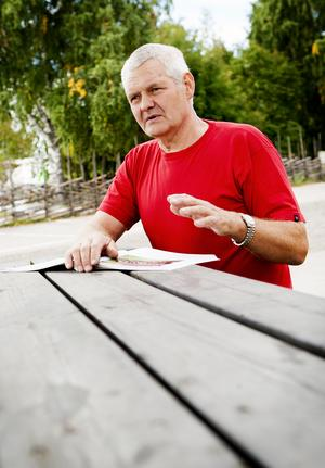 Per-Olov Lundin ser fram emot årets höstmarknad. Foto: Carl Lindblad/Arkiv