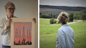 Galleri konst och kamera finns i Västertjäl, en bit utanför Sidensjö.