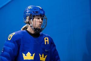 Landslagscentern Anna Borgqvist är tillbaka i Leksand. Foto: Carl Sandin/Bildbyrån