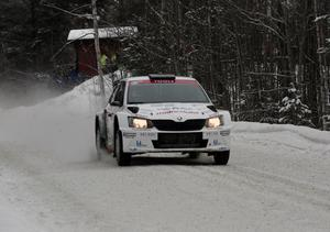 Joakim Roman kör en Skoda Fabia R5 i Svenska rallyt som startar nästa torsdag.